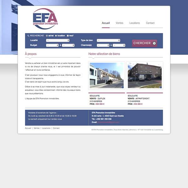 EFA Promotion Immobilière